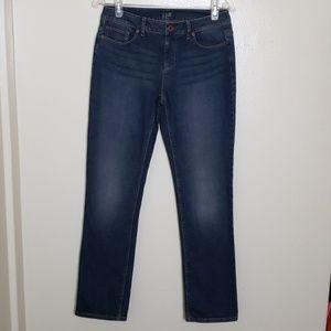 J.Jill Authentic fit slim leg jean